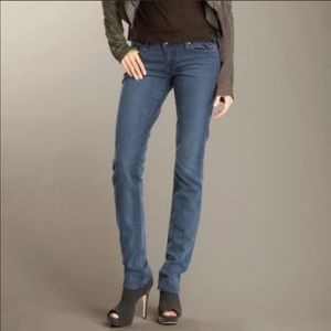 """Paige """"Blue Heights Low Rise Skinny Leg"""""""